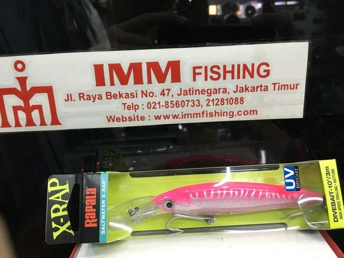 Beli Rapala Magnum CD 14 MAG Umpan Trolling - Red Head - KqSxA0 Spek Harga. Source · Rapala Xrap Divebait 10 Hot Pink Uv - ready stock