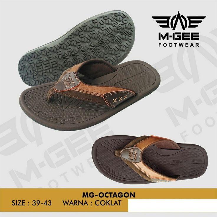 MGee MG-Octopus Brown Sendal Pria - Sandal Murah - Sandal Flip