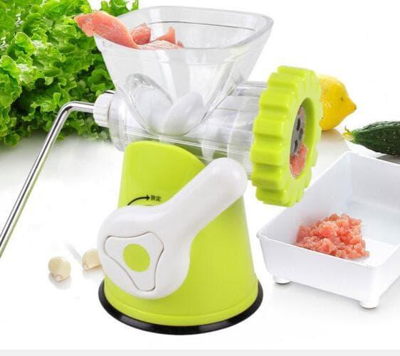 Getuk / Steak / Vegetable Blend Maker - Huamei Mincer Manual Meat Grinder / Penggiling Daging,Sayur