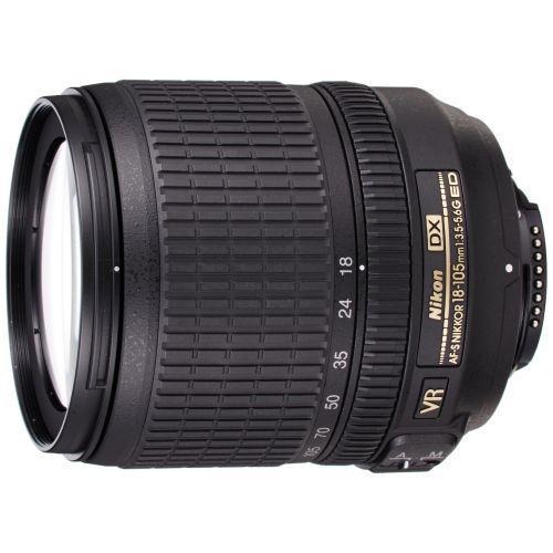 Nikon standard zoom lens AF-S DX NIKKOR 18-105mm f / 3.5-5.6G ED VR Nikon DX format only