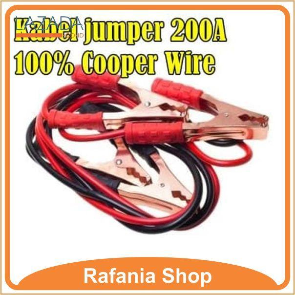 Kabel Jumper Aki Mobil 200a / Accu Booster Cable / Kabel Pancing Aki