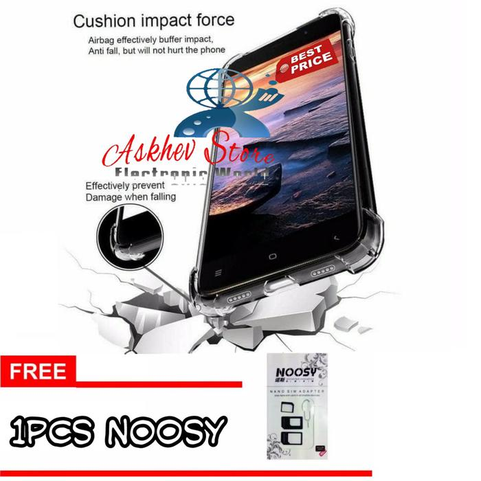 Promo Case Anti Crack Compatible For Oppo A83 FREE NOOSY SIM CARD