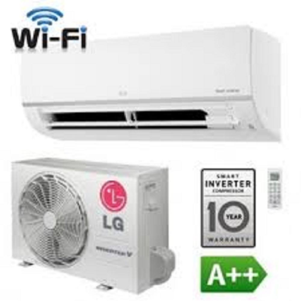 LG AC Inverter Wall Mounted Split 2 PK - T19EMV - Putih
