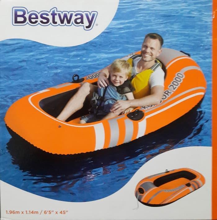 Perahu Bestway Kondor 2000 Orange By Df-Shop.