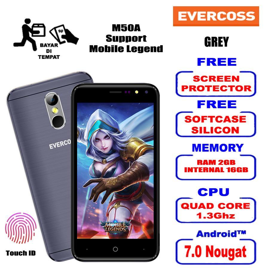 Buy Sell Cheapest Smartphone Evercoss U50c Best Quality Product Evercross M50a Ml 2gb 16gb 4g Lte Free Kuota 15gb