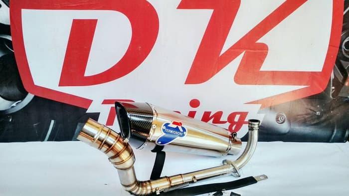 Knalpot Racing Honda Allnew Vario 150 Termignoni Monster Titann By Dk Racing Bekasi.