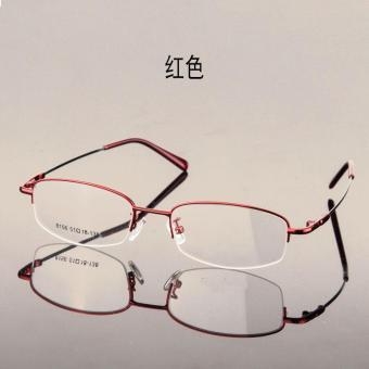 Bandingkan Toko Cahaya modis Kotak Setengah memori Paduan Titanium bingkai  kacamata Bingkai kaca mata pasang Sangat 6ac3234931