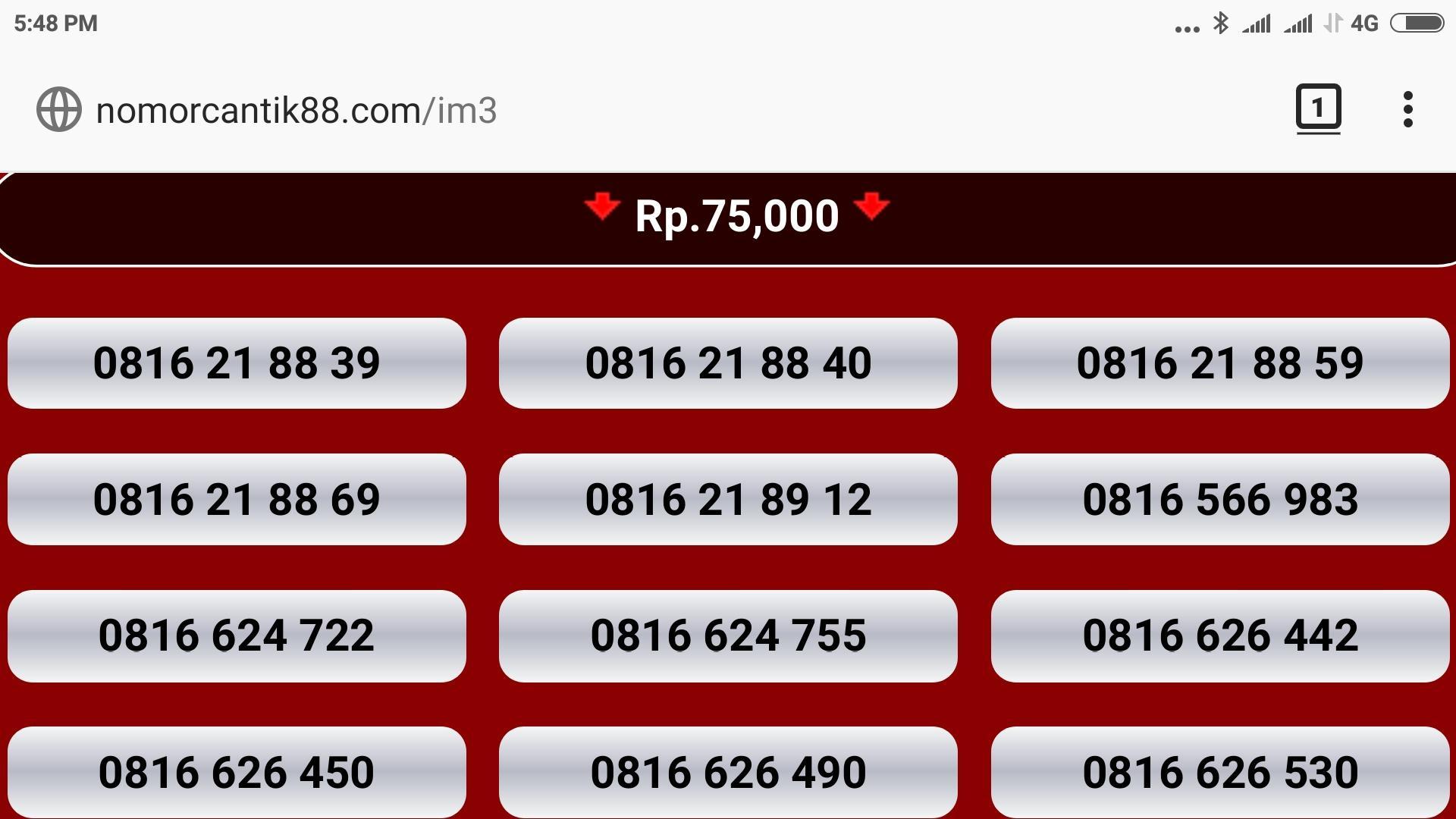 Kartu Sim Perdana Selular Tsel Kuota 9gb Nomor Cantik Im3 Indosat Nocan Gsm 10 Digit 3g 4g 0816 Mentari Prabayar Super