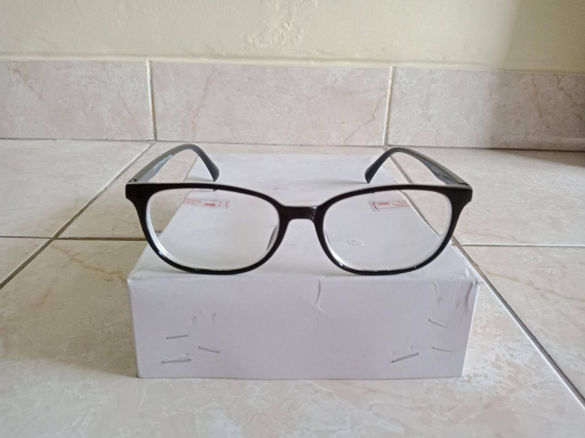 Promo Kacamata Minus 200 Kacamata Baca Murah Persegi Hitam Trendy ... 0719f3dc4c