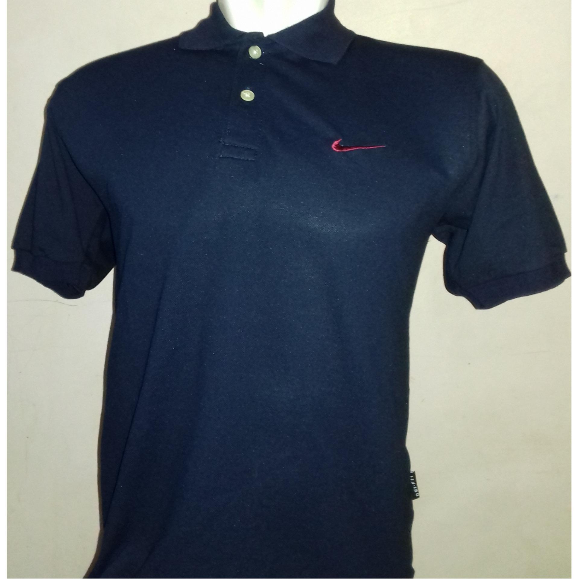 Baju Pria Polo Shirt Bahan Cotton Pique Size M L Xl Xxl Harga Murah Basic P107 Kaos Kerah C59 Original Nike Golf Navy Biru Dongker Rp6500000 Indonesia