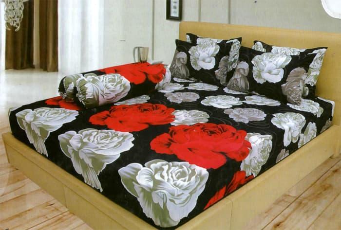 PROMO PALING MURAH Bedcover Lady Rose Disperse 180 - Vivian TERLARIS