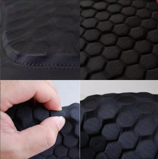 Sale -  Pelindung Lutut Knee Pad Leg Sleeve Honeycomb Deker Lutut Olahraga  Import
