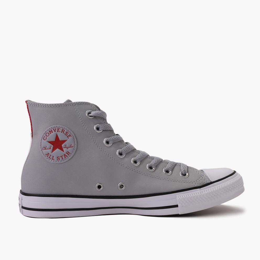 Converse Chuck Taylor All Star Hi Men's Sneakers Shoes - Abu-Abu