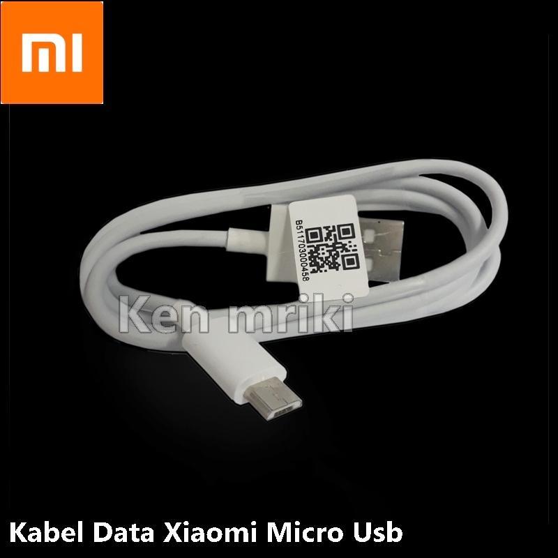 Kabel Data Xiaomi Original 100% Bawaan Redmi 4X Micro USB - Putih