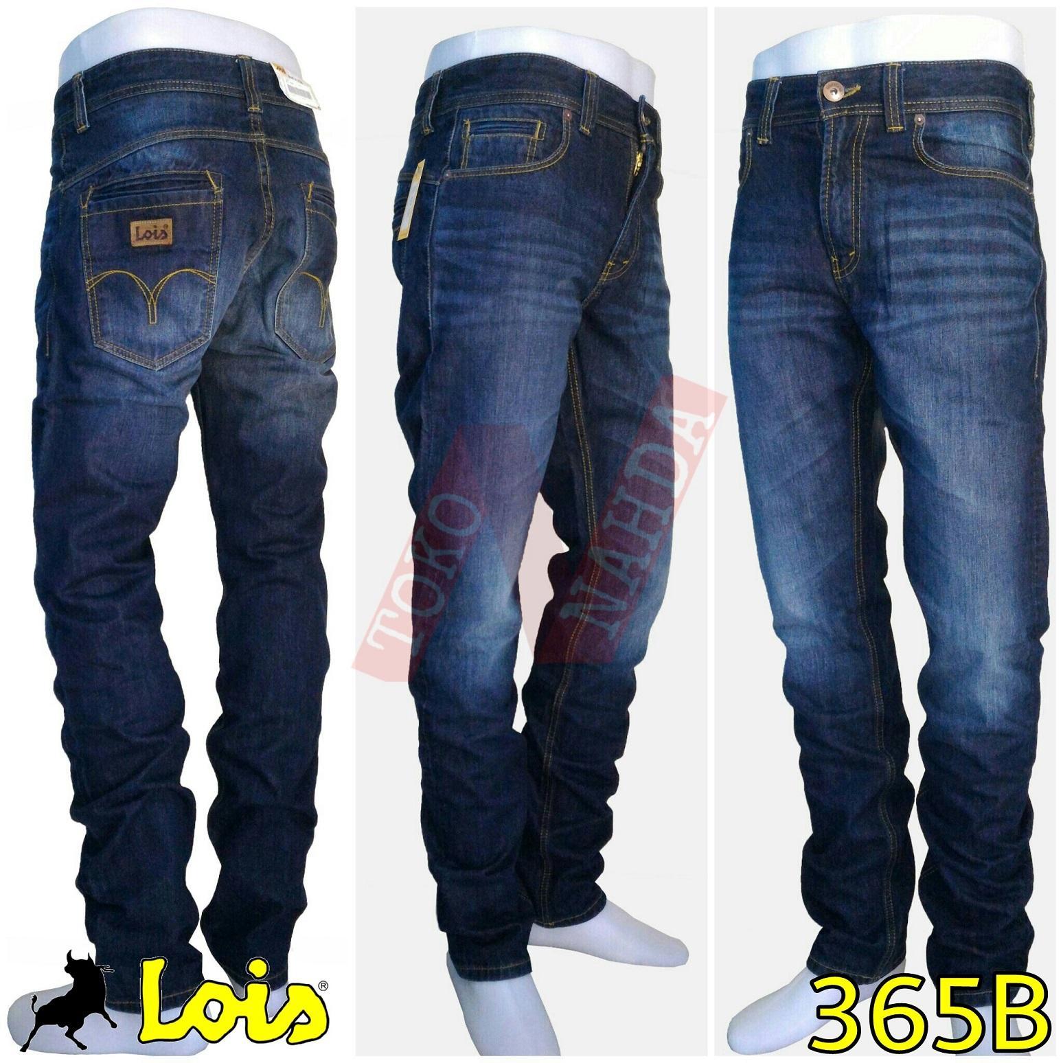 Dnr Celana Jeans Nevan Premium Stretch Beli Harga Murah Lois Original Panjang Pria Slim Fit Sls430 Navy 31 Pricenia Com Source