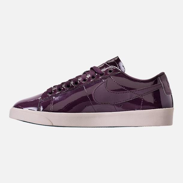 Nike W Blazer Low Se Prm Sepatu Olahraga Sneakers Wanita - Port Wine 76b76d67f9