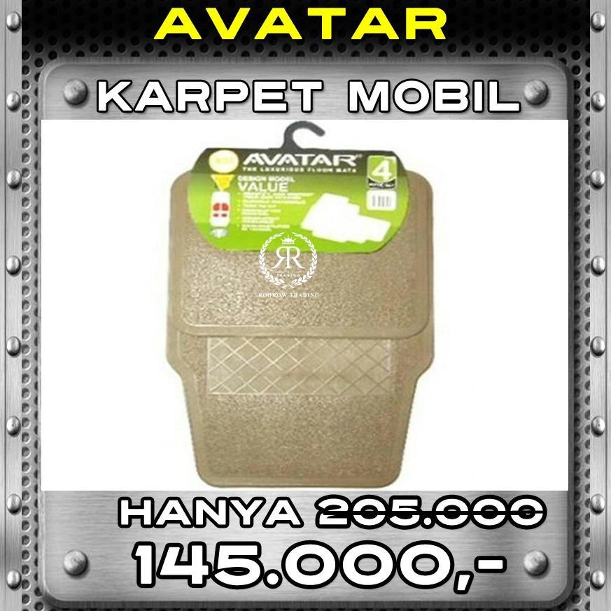 Karpet Mobil Avatar 5001 Beige 2 Baris - Agya Ayla Brio Yaris Mazda2 March Mirage Picanto