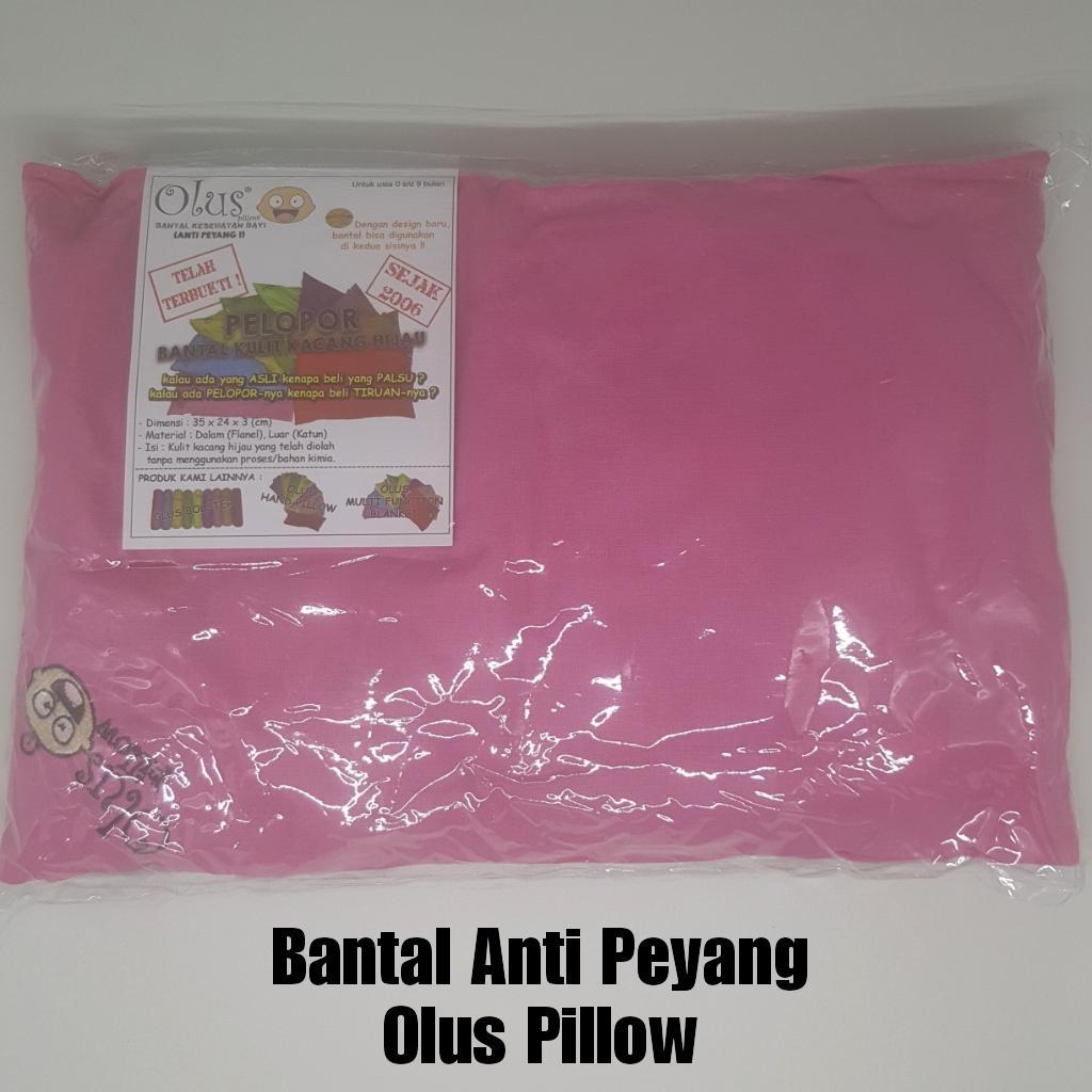 Kasur Sprei Bayi Berkualitas Terbaik Sarung Bantal Olus Pillow Pink Kesehatan Kepala Anti Peyang