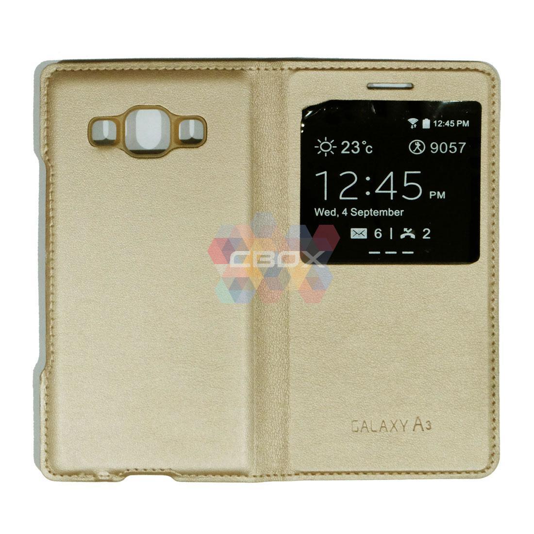 Galaxy Flipshell Samsung Galaxy A3 A300 / Smartcover Samsung Galaxy A3 / Leather Samsung Galaxy A3