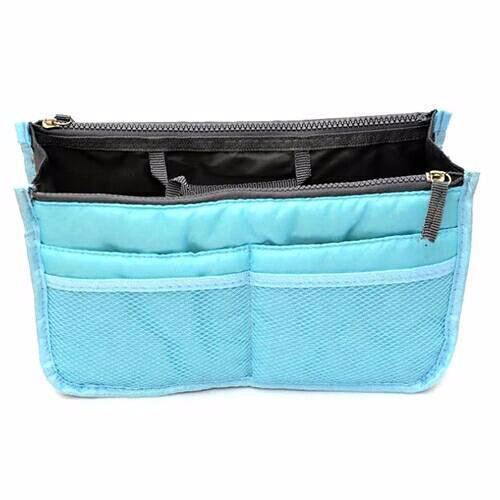 Korean Import Bag In Bag Dual Zipper Tas Organizer acdb94c090