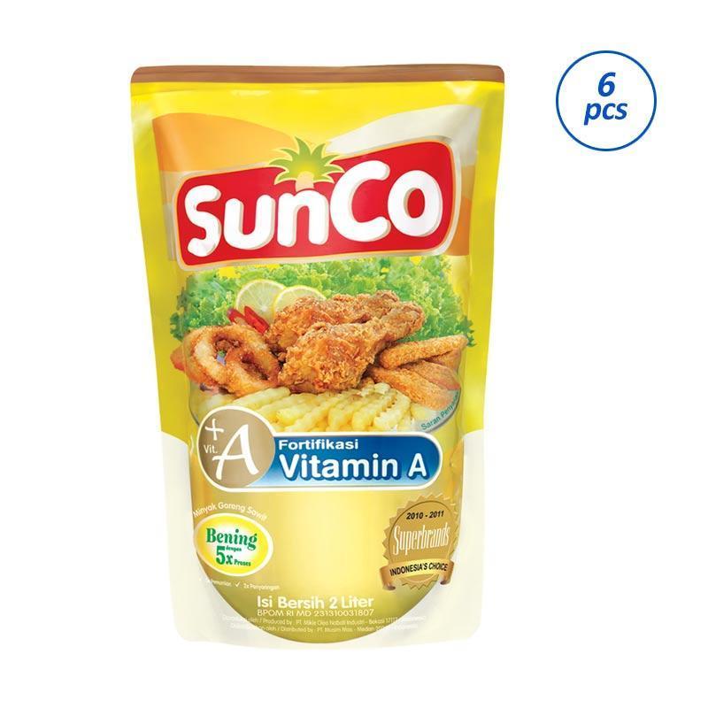 Ex.Minyak goreng Sunco 2 ltr