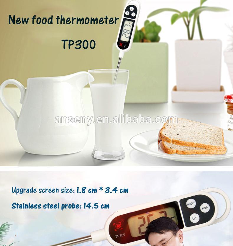 [DARI JAKARTA] Termometer Air Makanan Minuman Food Thermometer Digital BBQ Susu Oli Minyak Cairan Panas Dingin