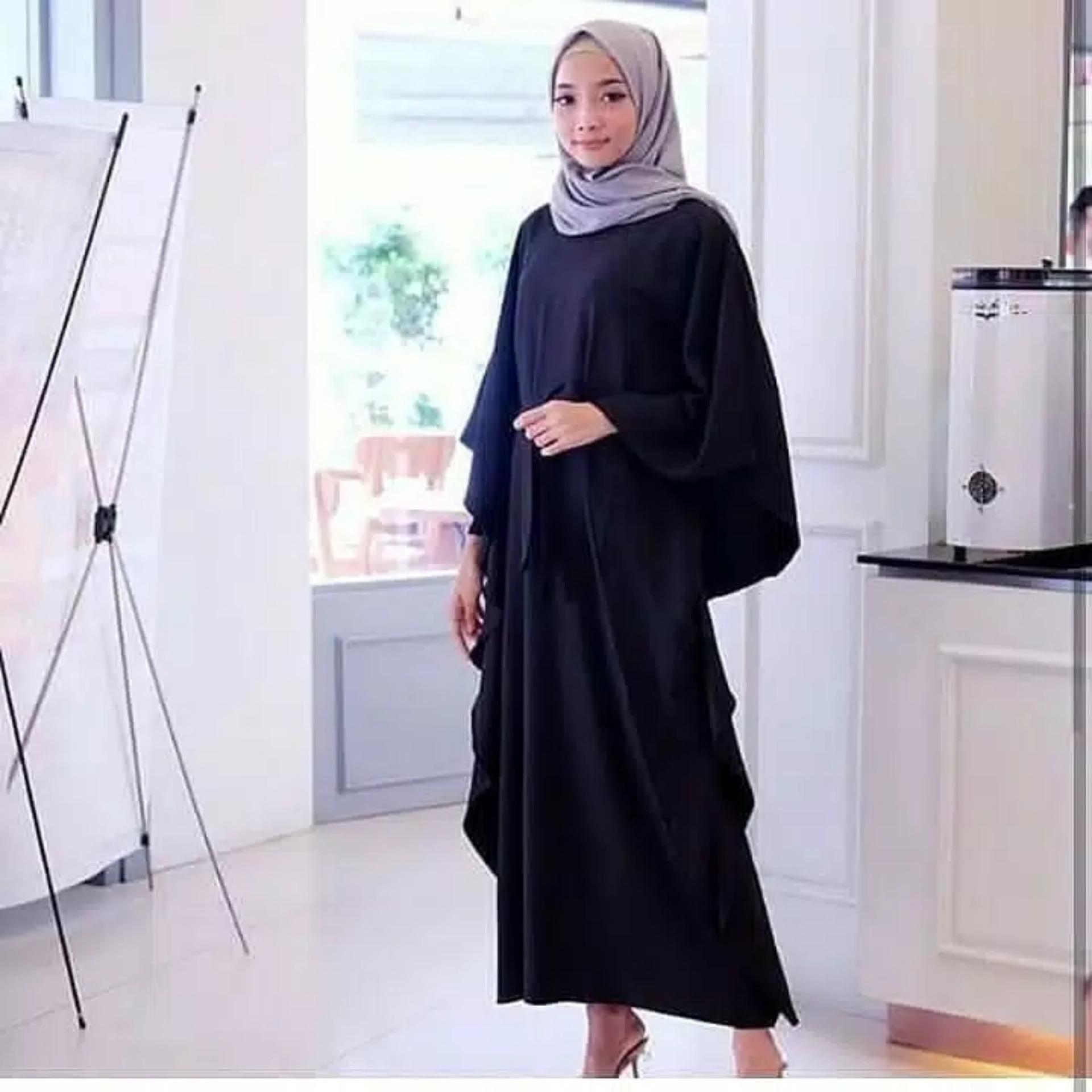 Jakarta Grosir  - Luaran Muslim Wanita / Setelan Blouse/ Kemeja wanita / Long Dress Maxy / Long Dress Wanita / Gaun Panjang/Gaun Wanita / Tunik Wanita / Dress Muslim / Atasan Muslim / Gamis ; Murah; Motif dan Warna Real Photo #Ukuran M, L dan XL