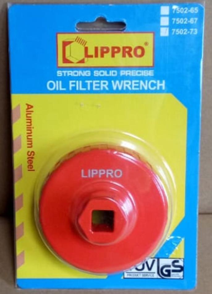 Sparepart - Kunci Oli Filter Mangkok 73Mm Lippro (innova,Vw,audi,Bmw,Opel,Herley) - ready stock