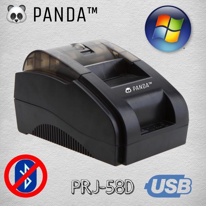 SALE - PRINTER KASIR STRUK KERTAS 58MM THERMAL PANDA USB (TANPA BLUETOOTH) Original