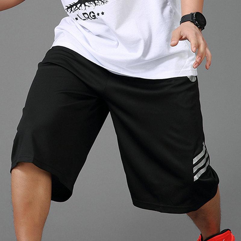 Celana Pendek Ukuran Besar Bola Basket Celana Selutut Kasual Ukuran Plus