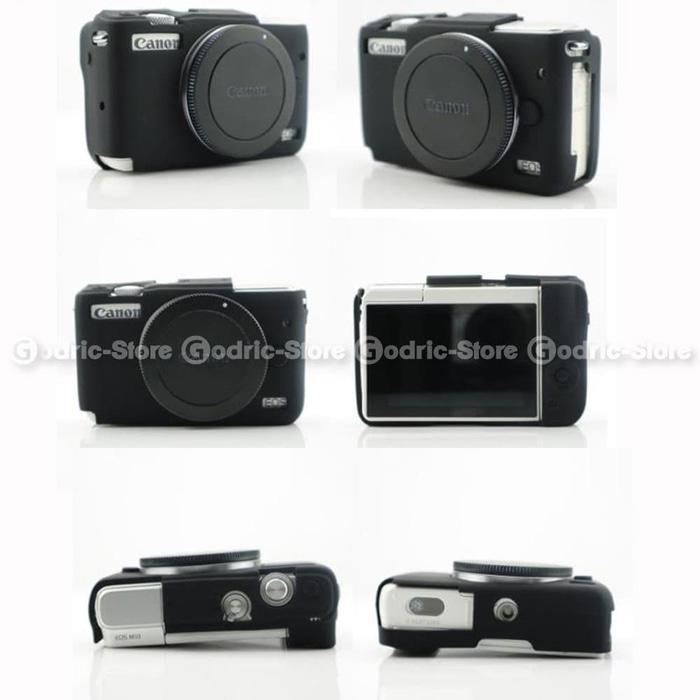 TERBARU Silicone Canon EOS M10 Silikon Case / Sarung Silicon Kamera Mirrorless TERLARIS