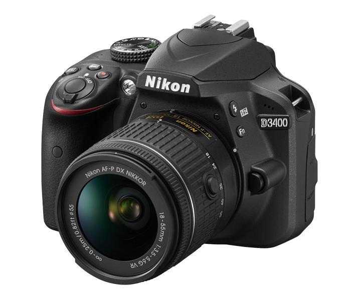 Nikon D3400 lensa kit 18-55mm VR
