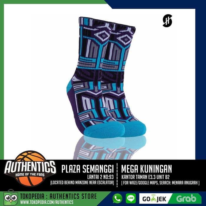 Stayhoops Cyrus Purple, Performance Socks