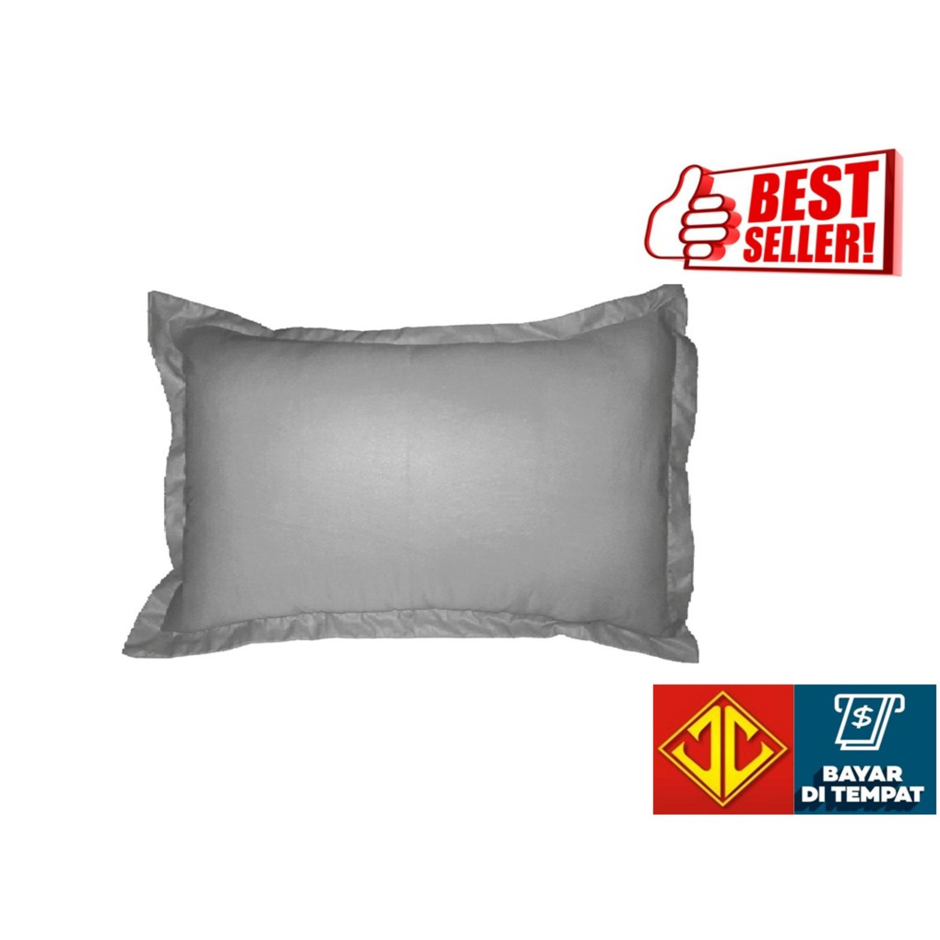 Sarung Bantal Waterproof Anti Air Ompol | Sarban Waterproof | Sarban Anti Air Polos Aneka Warna