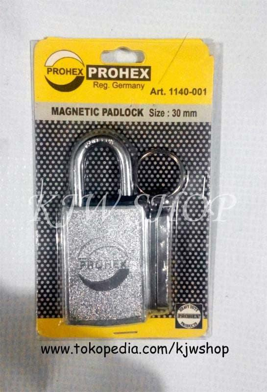 Gembok Magnet Prohex 30mm (GERMANY)