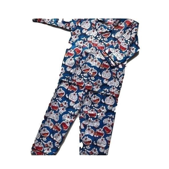 Baju Tidur Anak (Piyama) Gambar Doraemon - Untuk umur 4-7 Tahun ( Lengan Panjang )