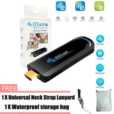 Ezcast 5G Dongle Wifi Media TV Tongkat Dongle Ota HDMI Wireless Adaptor Display Pendukung Miracast DLNA