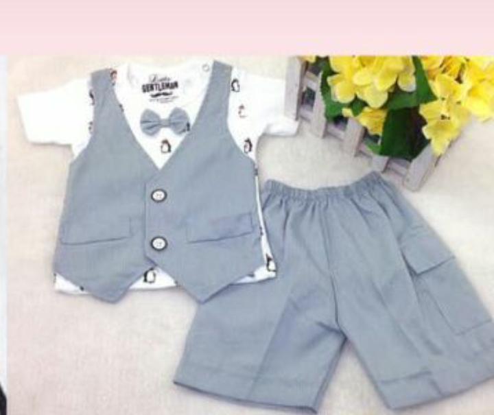 ... Baju Bayi laki-laki - setelan anakIDR64500. Rp 64.900