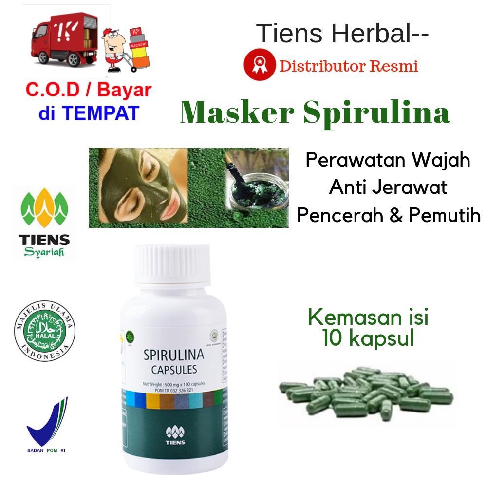 Harga C A Paket Murah Daftar 30 Produk Promo Bulan November Spirulina Masker  Ter Tiens Herbal Wajah Pemutih Badan