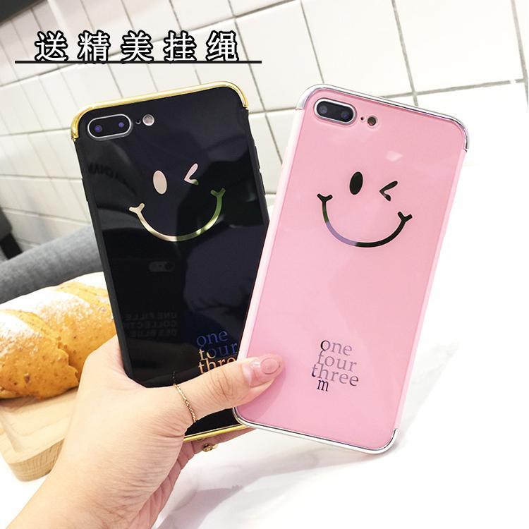 Some Selubung Ponsel 6 Plus Jepang atau Korea Selatan Apple Identitas Selubung IPhone7 Cermin Bungkus Penuh