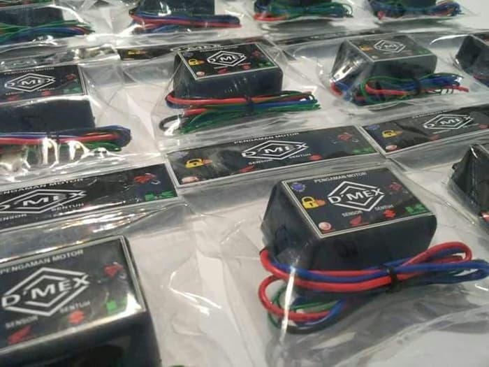 Sumber Plastik - Alat Pengaman Motor Dmex Sensor Sentuh Alarm