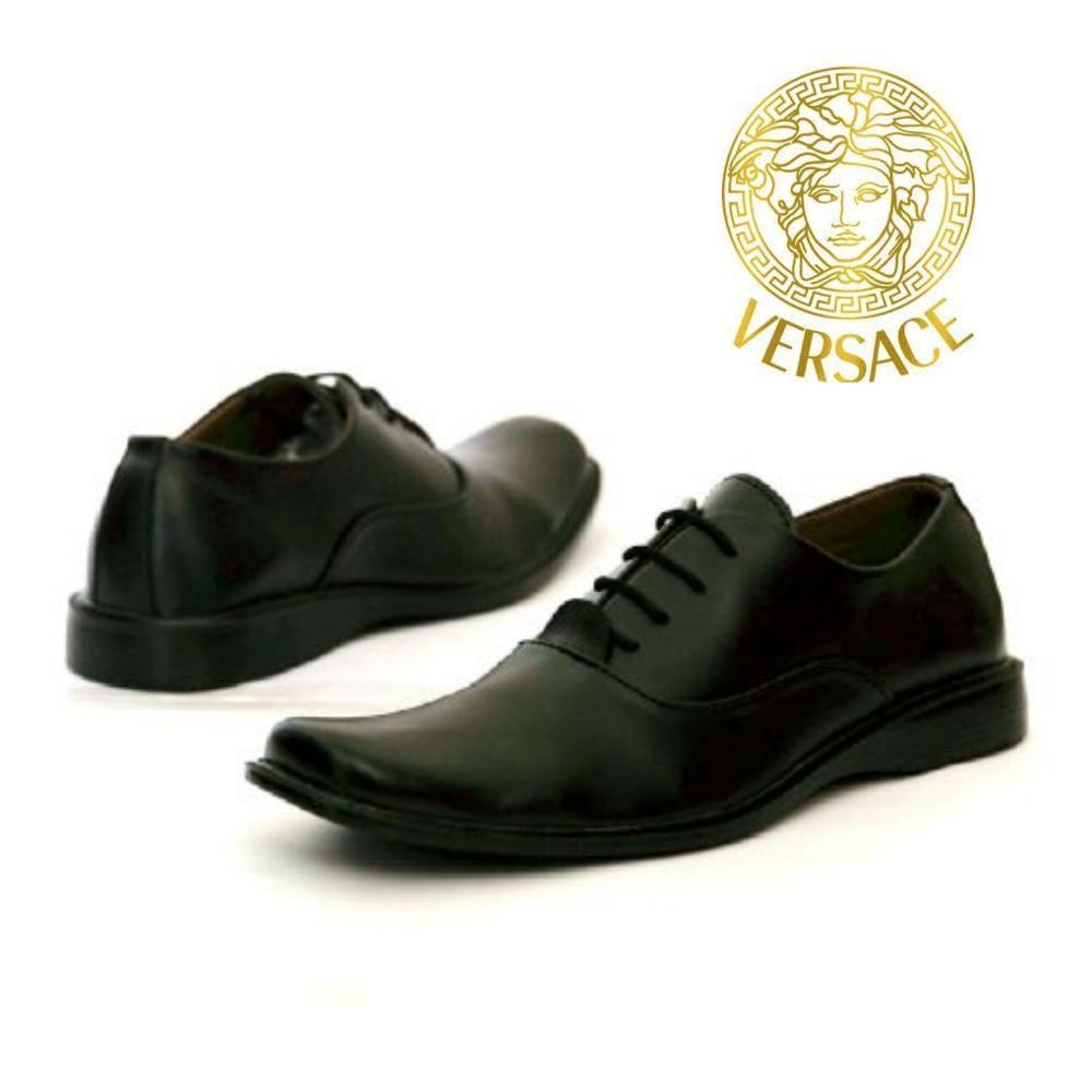 Promo Sepatu Pantofel Versace - Sepatu Kerja Dinas Pakai Tali Fashion b6d05785b8