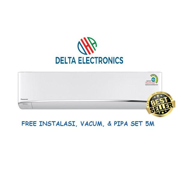 Panasonic CS-U13TKP 1,5PK Inverter Deluxe Ionizer + Instalasi + Vacum + Pipa Set 5m