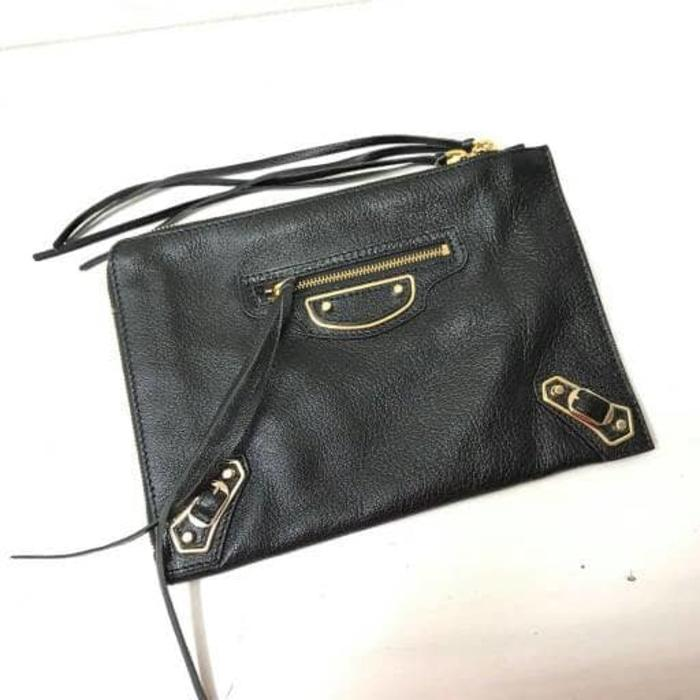 ORIGINAL!!! Balenciaga clutch edge black - n5n6A9