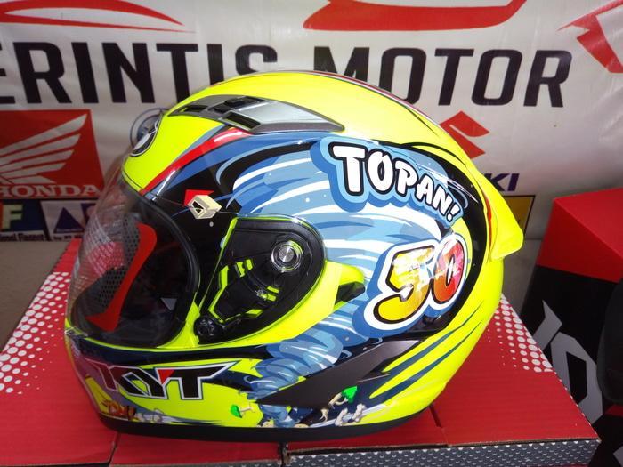 Helm KYT VENDETTA II PEMBALAP TOPAN World Class Helmet