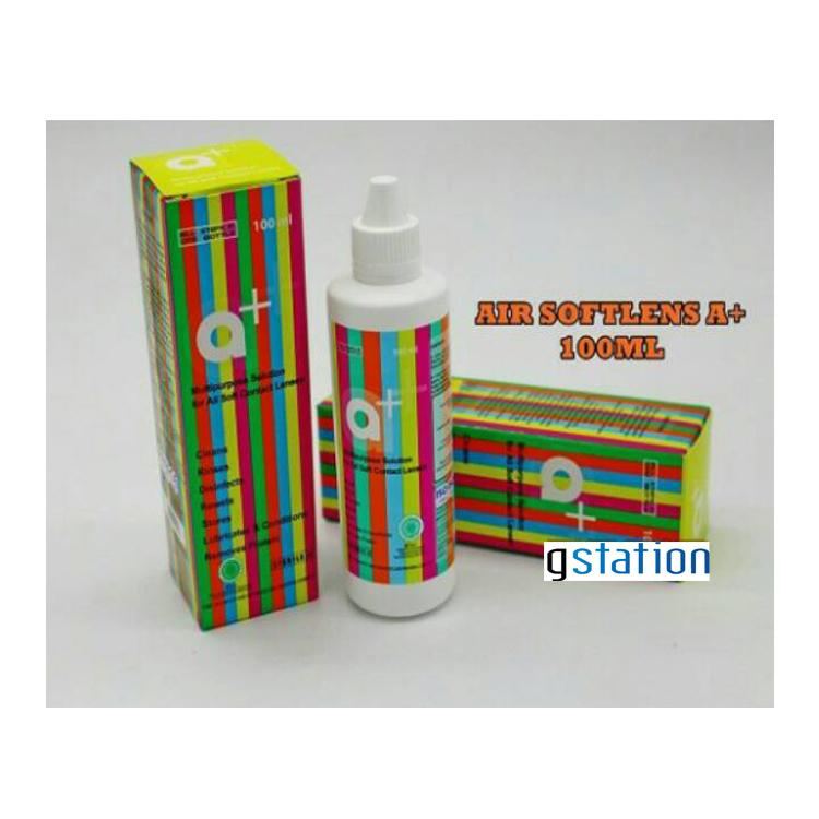 Game Station A+ Cairan Softlens 100ml