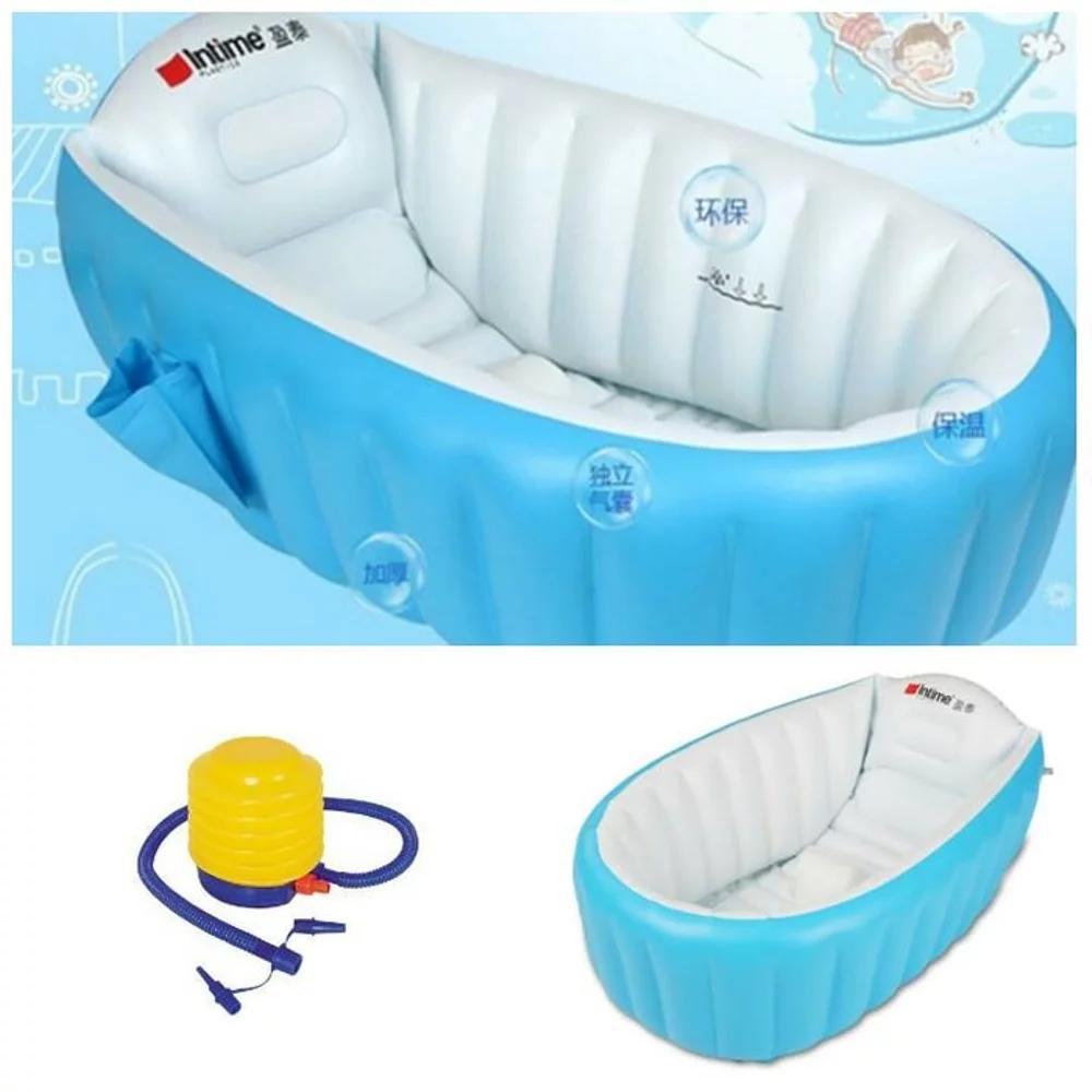 Bestway Baby Tub Pink Bak Mandi Renang Bayi Empuk Daftar Harga Tempat Shinpo Paradise 601 Paket Intime Bath Blue Pompa 5 Inch