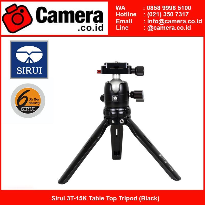 Sirui 3T-15K Table Top Tripod (Black) - Tripod mini kamera
