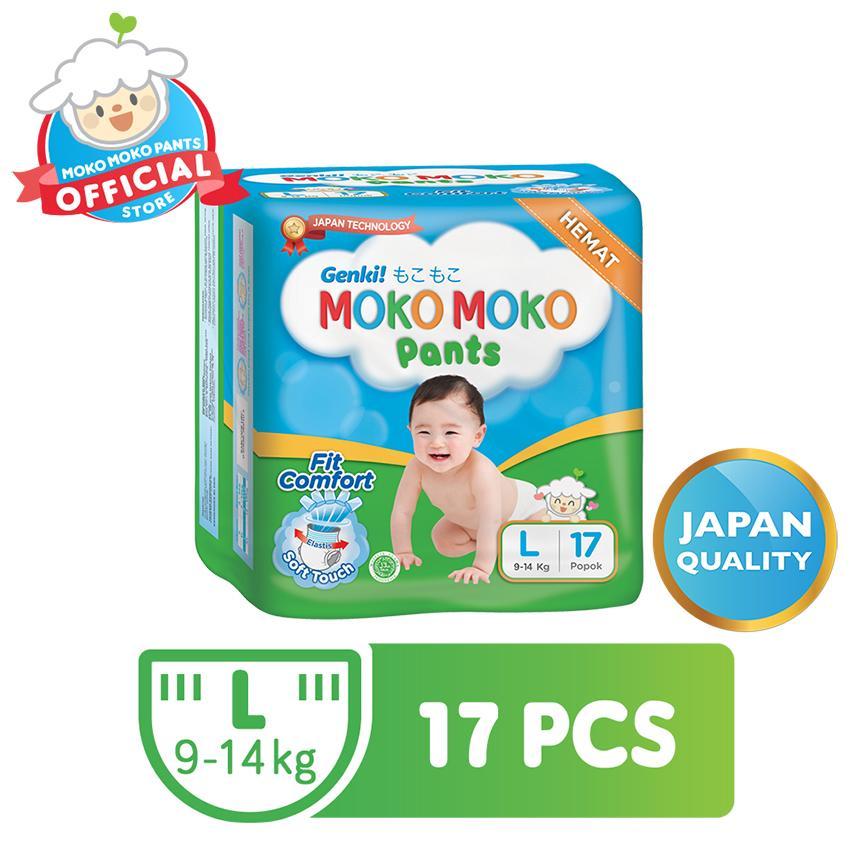 Genki Moko Moko Pants L 17