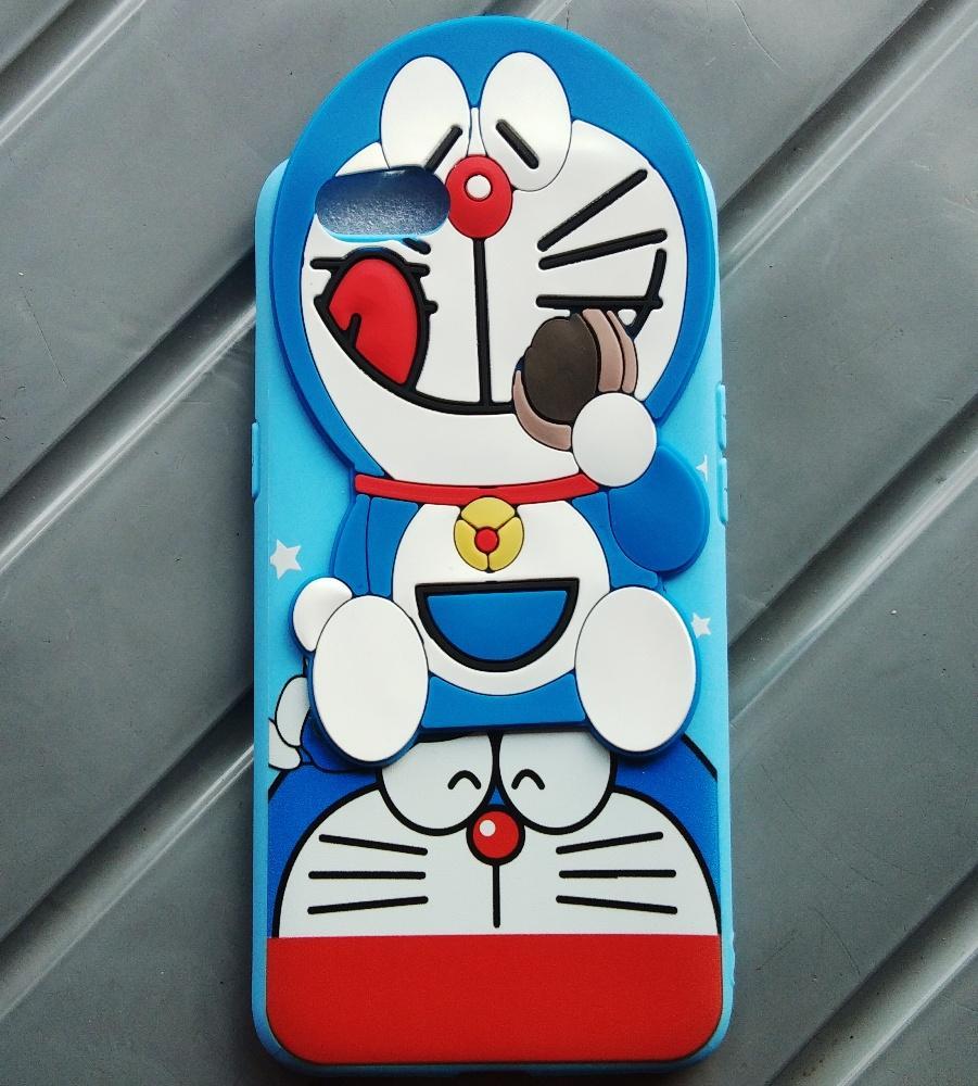 Softcase Doraemon 3D Oppo A71 - Luxury